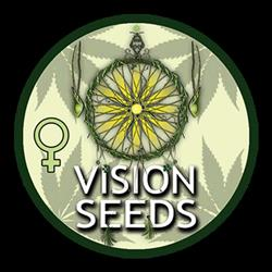 NEW - VISION SEEDS - WHITE WIDOW AUTO - 3 SEMI