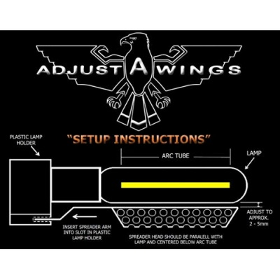 SUPER SPREADER LARGE PER RIFLETTORE ADJUST-A-WINGS